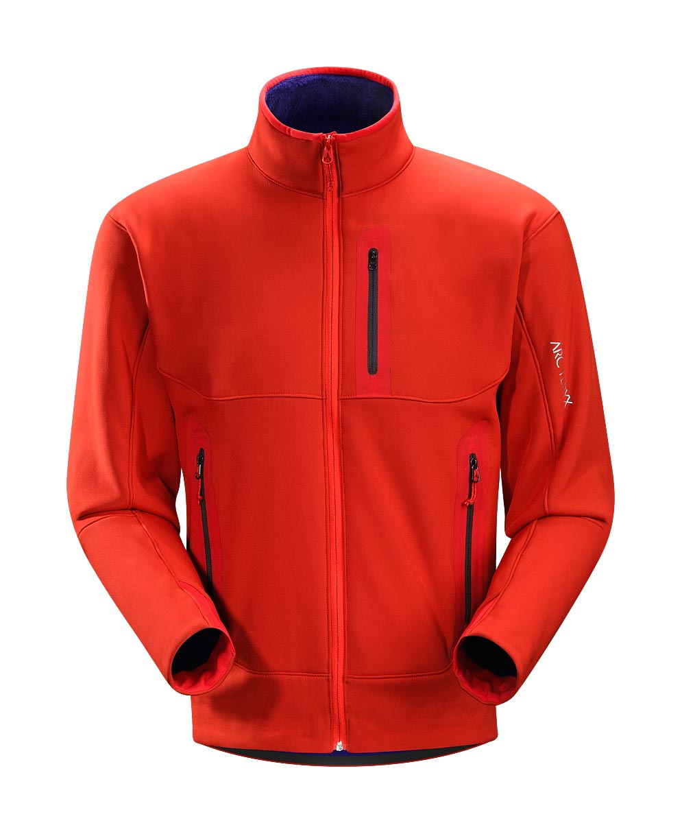 Arcteryx Road Rash Red Hyllus Jacket
