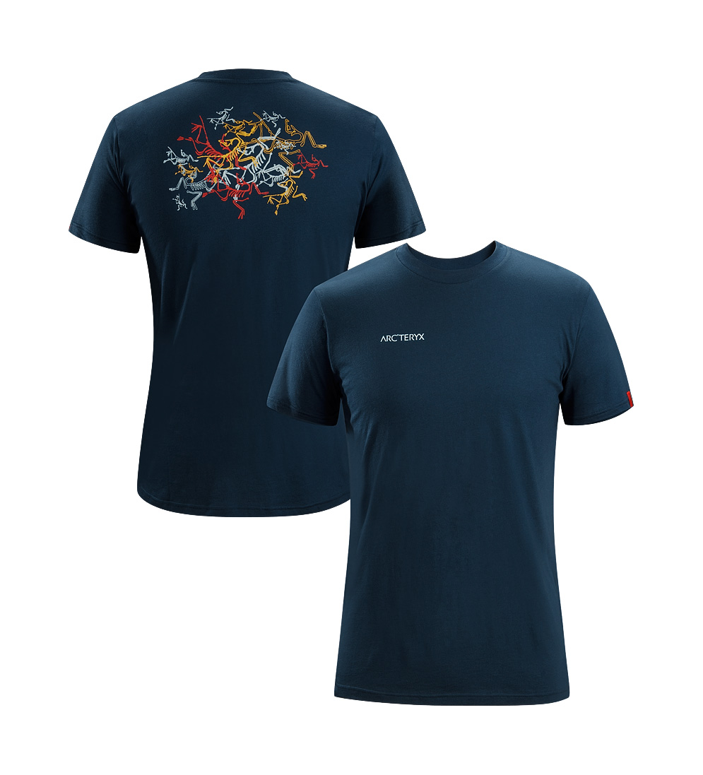 Arcteryx Blue Moon Multi Bird T-Shirt - New